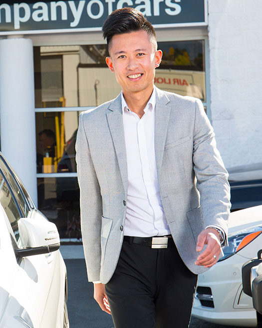 Jerry Chen Sales at Company of Cars