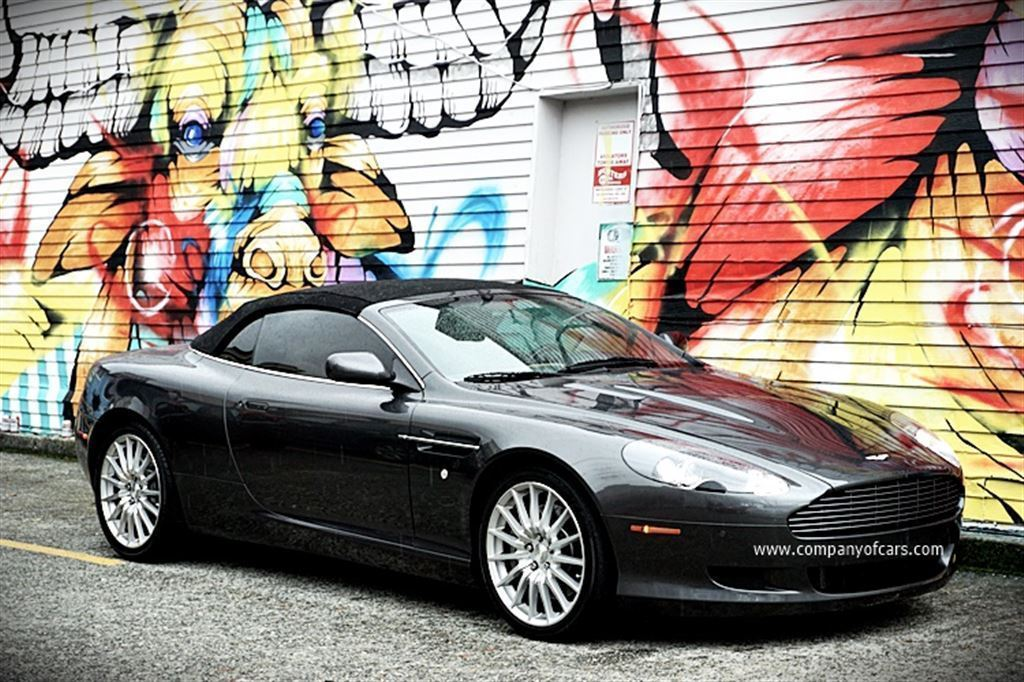 2008 Aston Martin DB9 at Company of Cars in Vancouver