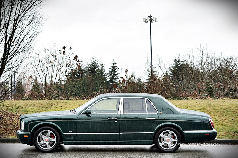 2001 Bentley Arnage Le Mans edition