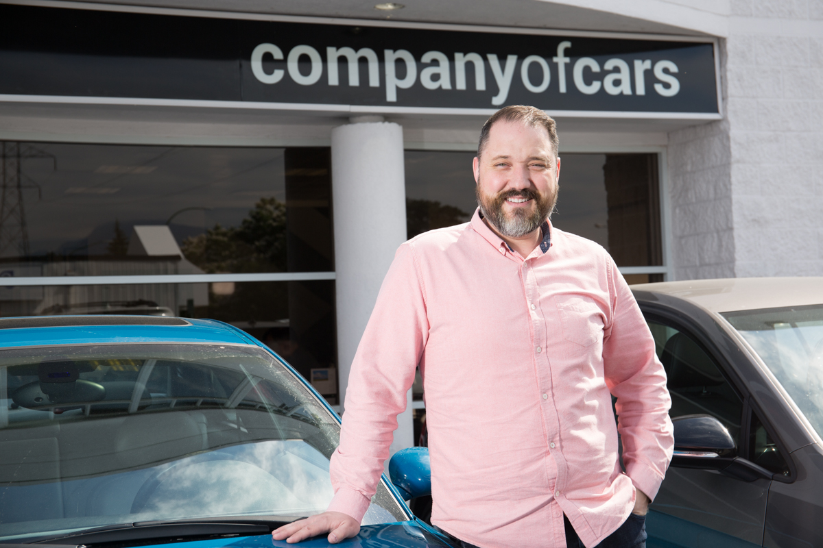 Steve Carman Sales at Company of Cars