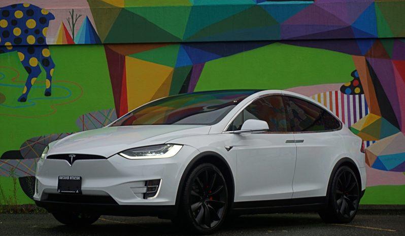 2018 Tesla Model X P100D Ludicrous 6 passenger